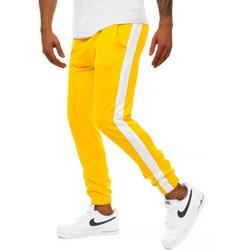 776578f41f1a9a Żółte spodnie męskie, lato 2019 w Domodi