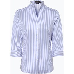 27a9f33c63d3b4 Franco Callegari koszula damska niebieska z długimi rękawami w paski