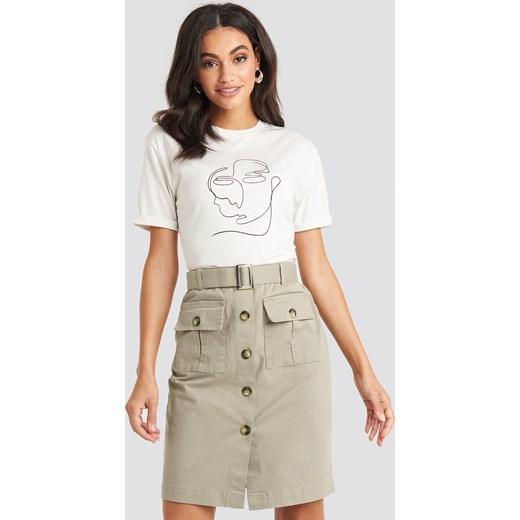 trwałe modelowanie Spódnica NA-KD casual mini Odzież Damska FO Spódnice QWJG