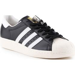 a63a937e Trampki męskie Adidas Originals superstar ze skóry wiązane sportowe
