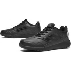 d911d5ff Buty sportowe damskie Adidas do biegania na płaskiej podeszwie sznurowane  gładkie