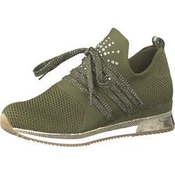 37e0bfe58 Adidas. Buty sportowe damskie zielone Marco Tozzi młodzieżowe sznurowane  płaskie
