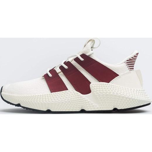 Buty sportowe damskie Adidas sneakersy bez wzorÓw sznurowane