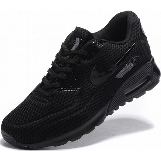 Buty sportowe męskie Nike air max 91 wiązane ze skóry
