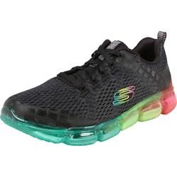 3c4d59d2 Buty sportowe damskie Skechers dla biegaczy młodzieżowe sznurowane płaskie