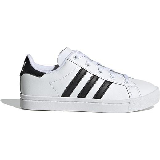 buty trampki białe chlopięce adidas