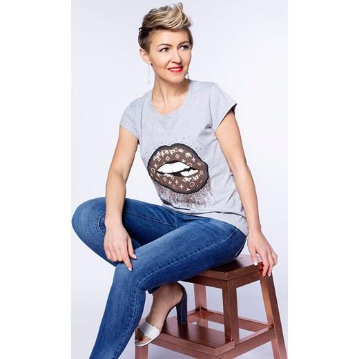 tani Jeansy damskie jesienne w miejskim stylu Odzież Damska FU niebieski Jeansy damskie YIZO