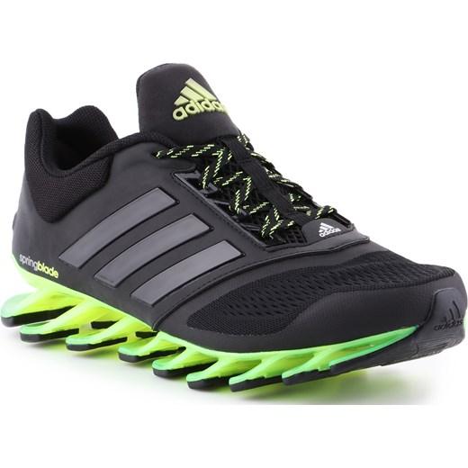 tania wyprzedaż nowy design przedstawianie Czarne buty sportowe męskie Adidas Performance sznurowane