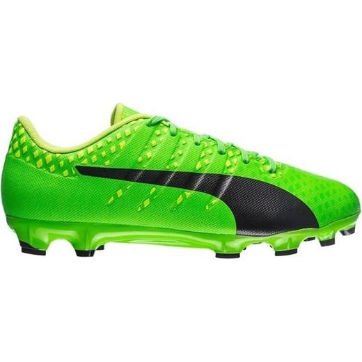 Puma buty sportowe męskie evopower sznurowane zielone www