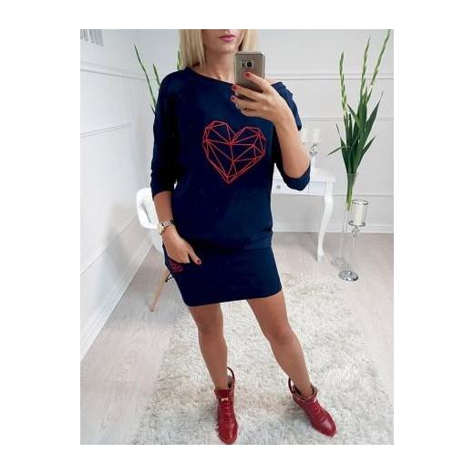 80% ZNIŻKI Spódnica mini z bawełny Odzież Damska IW niebieski Spódnice JMEL