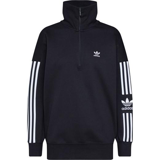 wylot Bluza damska Adidas Originals czarna z dresu Odzież