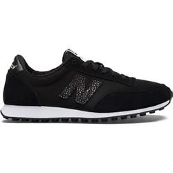 6a156671 Buty sportowe damskie New Balance w stylu casual płaskie sznurowane bez  wzorów eleganckie zamszowe