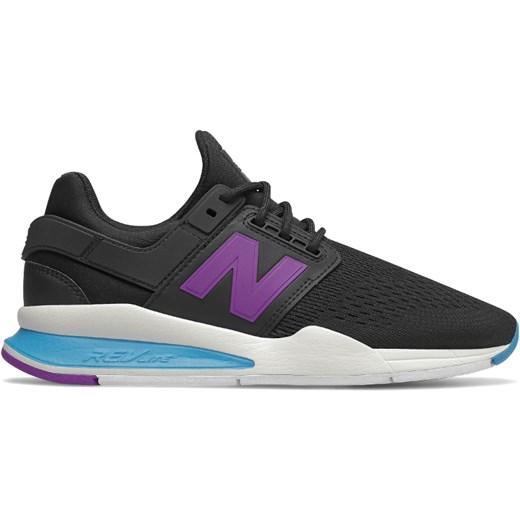 Buty sportowe damskie New Balance w stylu casual gładkie na płaskiej podeszwie