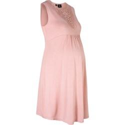 7a24fdec Sukienka ciążowa Bonprix z wiskozy