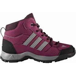 a90464bc0d3f40 Adidas buty zimowe dziecięce śniegowce różowe sznurowane bez wzorów