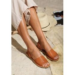 480f42d8 Sandały damskie Renee pomarańczowe casual płaskie