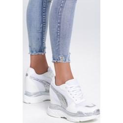 a53d8b1d Sneakersy damskie Renee sznurowane bez wzorów wiosenne