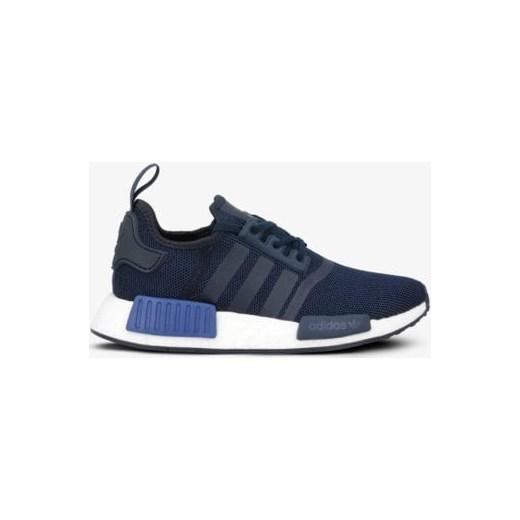 Adidas buty sportowe damskie do biegania nmd niebieskie