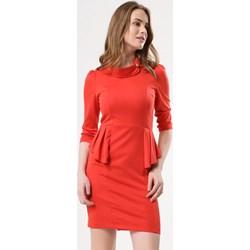 d23b5682e3a9eb Sukienka Born2be z długim rękawem mini gładka
