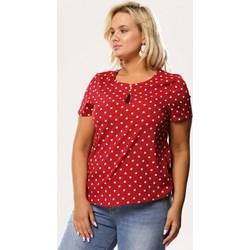 3521694f7bc6e3 Czerwone bluzki damskie, lato 2019 w Domodi