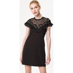 502f8fa71 Sukienka Born2be na sylwestra czarna casual dopasowana