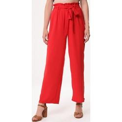 d56fee1d604365 Czerwone spodnie damskie, lato 2019 w Domodi