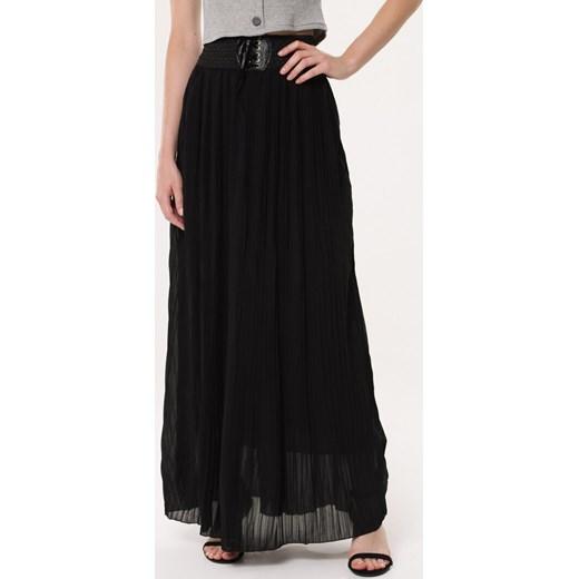 trwałe modelowanie Spódnica czarna Born2be bez wzorów Odzież Damska FT czarny Spódnice AUUZ