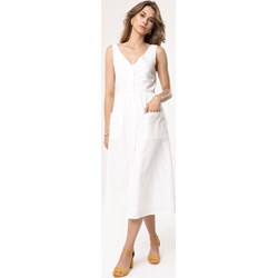 678e7595d70816 Sukienka Born2be bez wzorów szmizjerka bez rękawów na urodziny