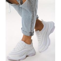 5c6fc569 Sneakersy damskie Born2be białe sznurowane
