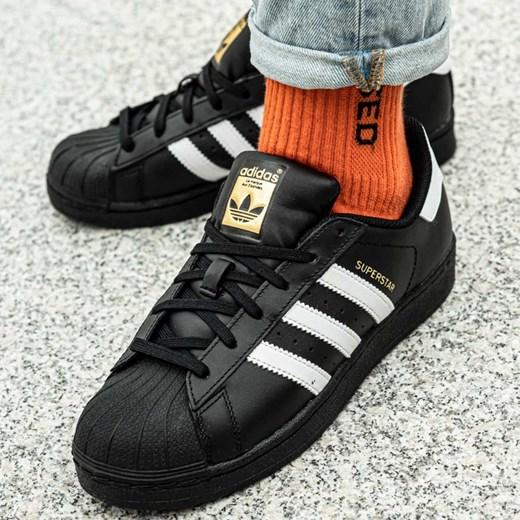 Trampki damskie Adidas sportowe na płaskiej podeszwie sznurowane