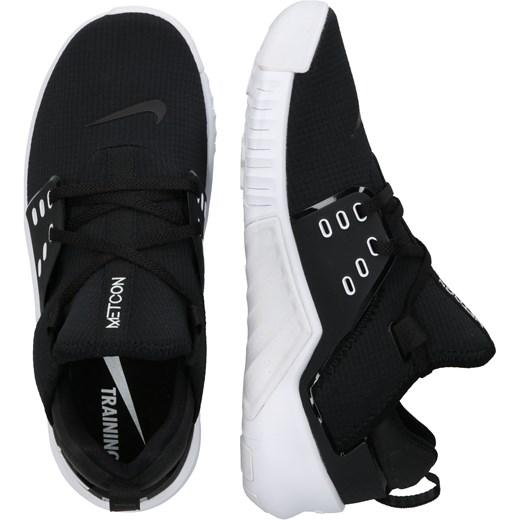 Buty sportowe damskie czarne Nike sneakersy wiązane płaskie