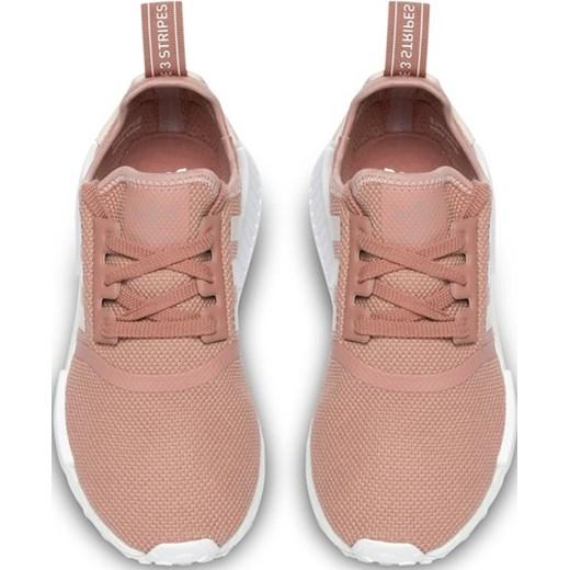 Buty sportowe damskie różowe Adidas Originals bez wzorów