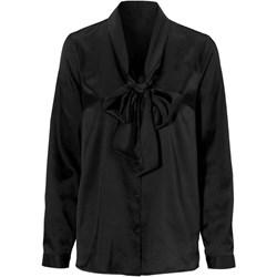 39d42a1e7a8c37 Koszula damska Cellbes czarna z długim rękawem