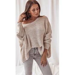 dfb53aa9 Różowy sweter damski Rose Boutique z nylonu