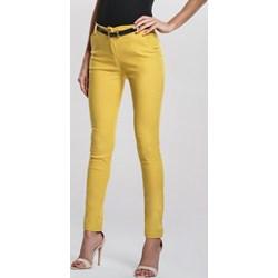 28837981f06bcb Żółte spodnie damskie, lato 2019 w Domodi