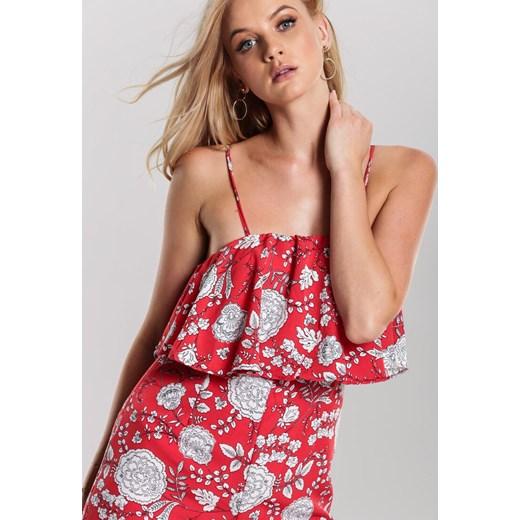 tani Czerwony Kombinezon Child Renee odzież Odzież Damska OA różowy Kombinezony damskie OMIV