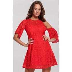 d1166fc5 Sukienka Renee z okrągłym dekoltem mini na wiosnę