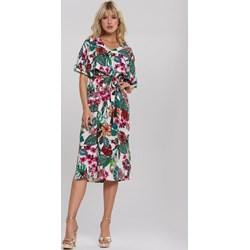 f0543895d135eb Sukienka Renee z krótkim rękawem w kwiaty