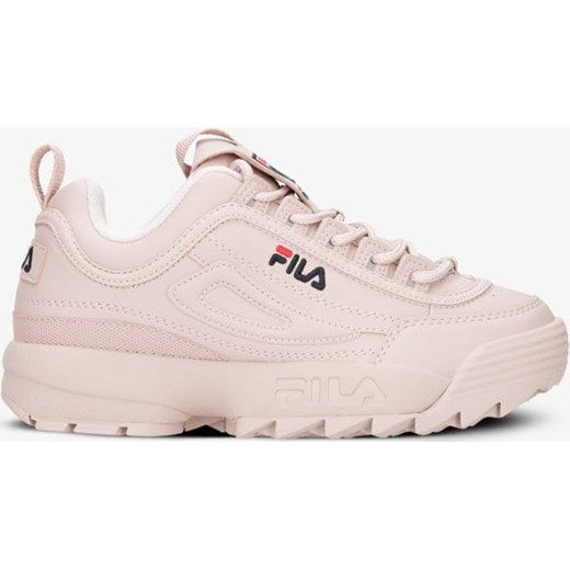 85% ZNIŻKI Różowe buty sportowe damskie Fila do biegania bez