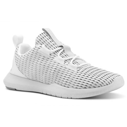 Buty sportowe damskie Reebok do fitnessu białe sznurowane