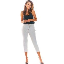 438f711d Białe spodnie damskie Red By Emp z elastanu