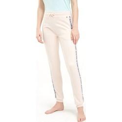 78fc35352fc3e5 Spodnie damskie Tommy Hilfiger sportowe bez wzorów dresowe