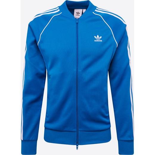 Bluza męska niebieska Adidas Originals Odzież Męska CZ