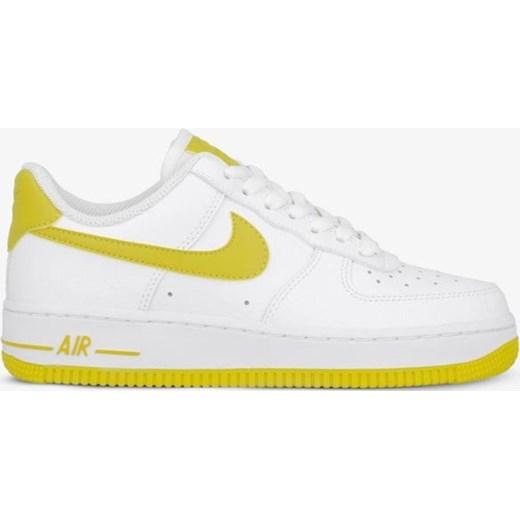 Białe buty sportowe damskie Nike sneakersy air force sznurowane gładkie