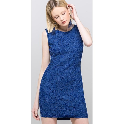sprzedaż Sukienka Monnari niebieska trapezowa bez rękawów