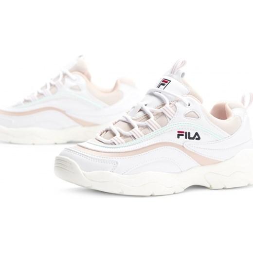 Buty sportowe damskie Fila sneakersy młodzieżowe białe
