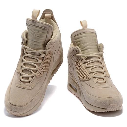 Nike buty sportowe męskie sznurowane Buty Męskie TL brązowy