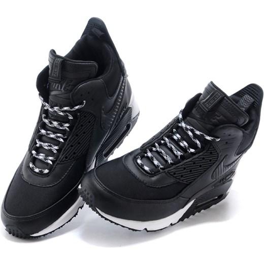 Nike buty sportowe męskie air max 91 młodzieżowe czarne na
