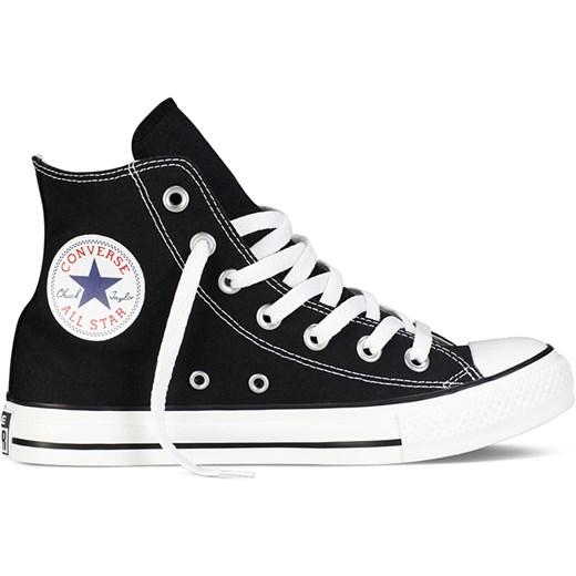 Trampki męskie czarne Converse all star sznurowane sportowe