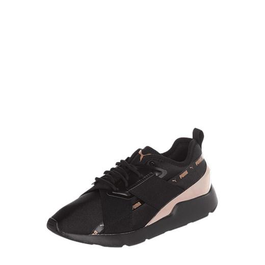 Sneakersy damskie Puma z nadrukami Buty Damskie WU czarny